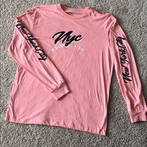 NYC Forever 21 Men's Long Sleeve Tee